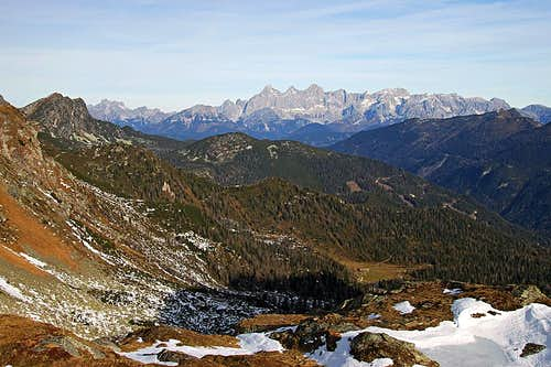 Dachstein from Seekarspitze