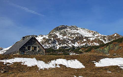 On Obertauern plateau