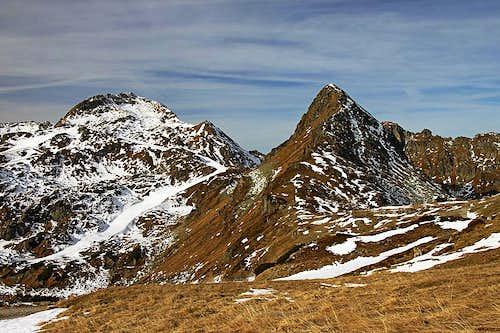 Seekarspitze and Klammerkarl