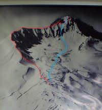 Erciyes volcano