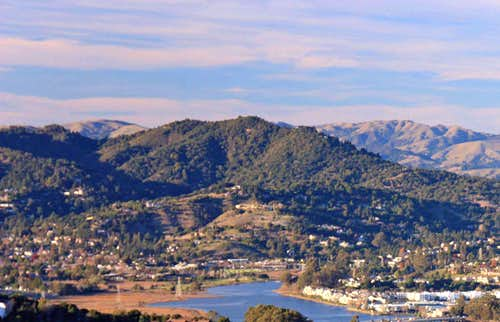 Corte Madera Ridge from the Marin Headlands