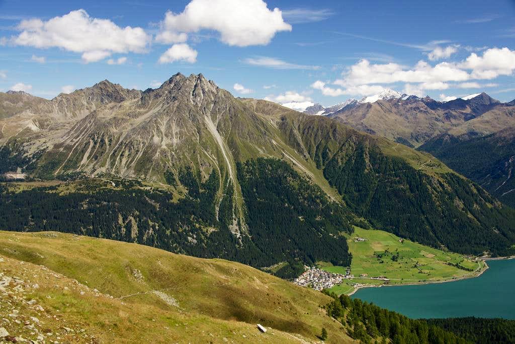 Bergkastellspitze, Plamorder Spitze, Klopaierspitze