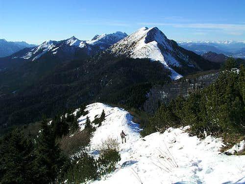 On the W ridge of Struska,...