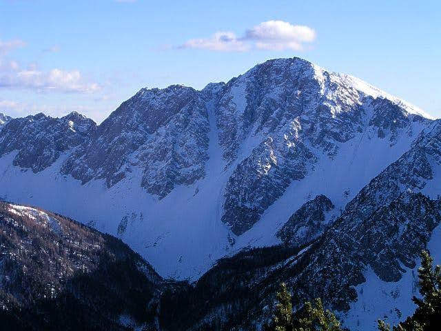 Struska summit view:...