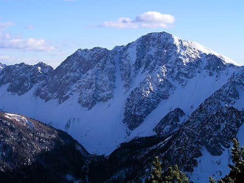 Struska summit view:...