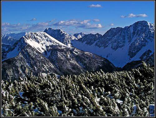 Struska summit view: Towards the E