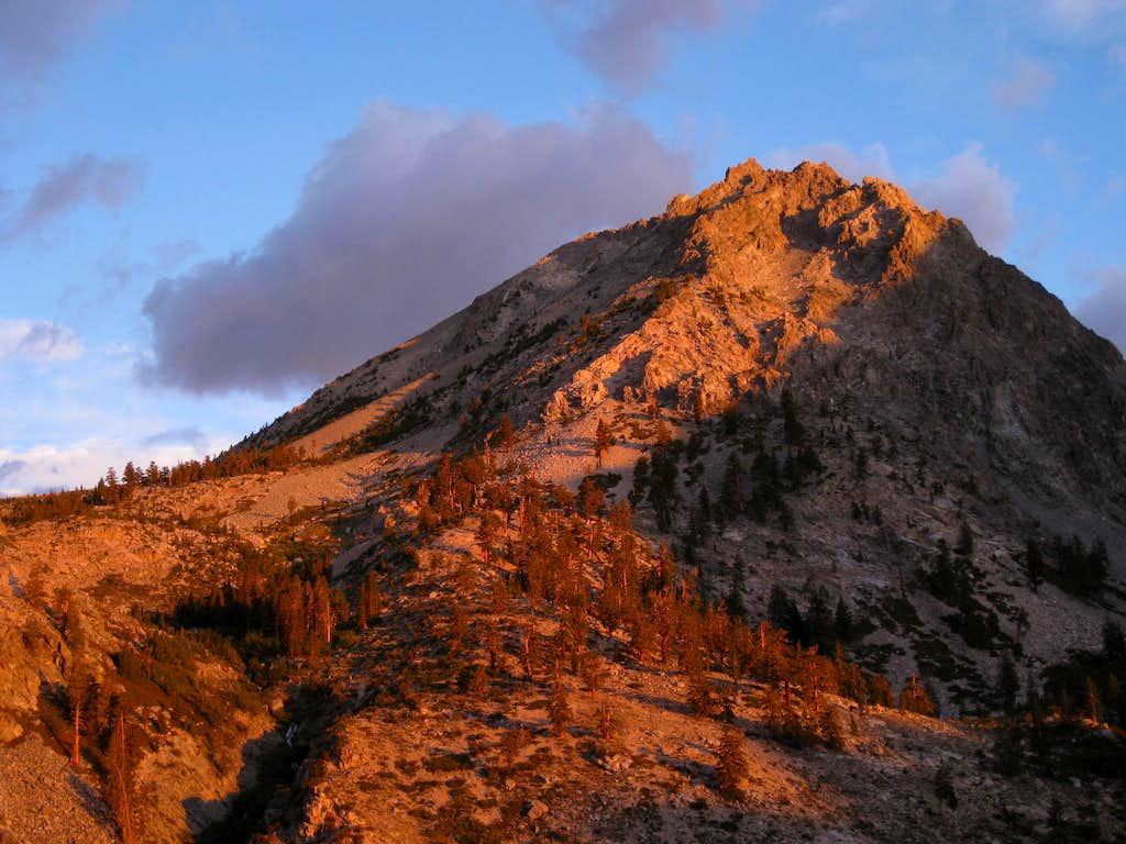 Dawn near Mount Gould