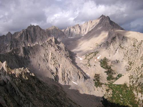 Center Basin Crags and University Peak