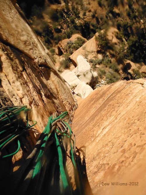 Cowboy Bob Goes to Zion, 5.10+, 8 Pitches