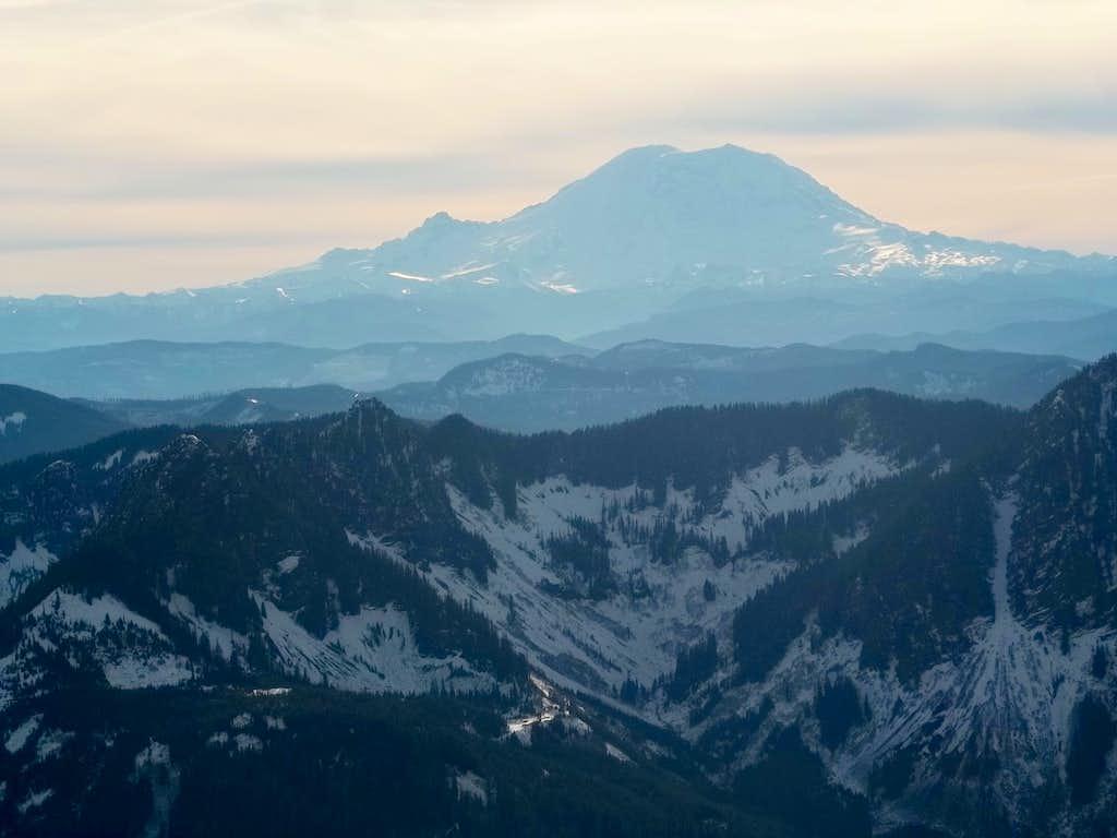 Rainier from Web Mountain
