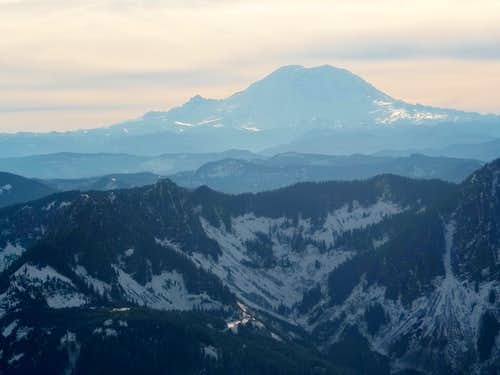 Rainier from Web Mountain