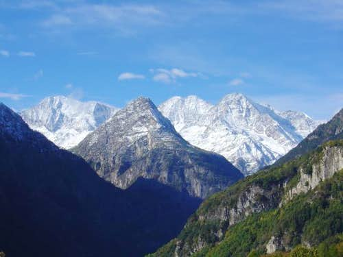 Weissmies and Fletschhorn,...