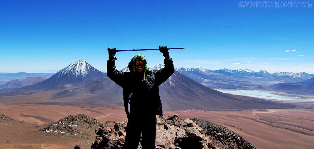 Me at my first 5000m summit: Toco