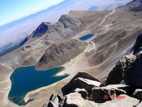 Laguna del Sol and Laguna de...
