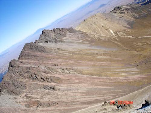 View of Pico del Aguila from...