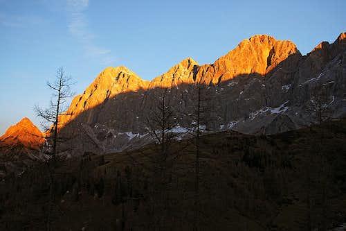 Dachstein south walls