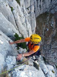 Fine limestone on Bars of Fog (Sbarre di Nebbia), Punta Jacu Ruiu, Sardinia