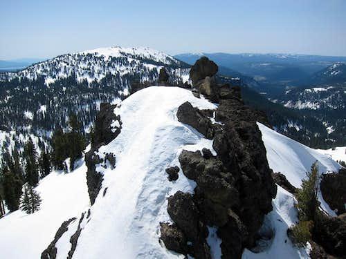 Diamond Peak Middle Summit