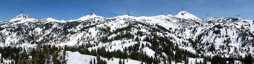 Diamond Peak Panorama