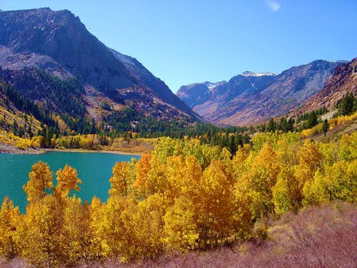 Lundy Lake in Fall