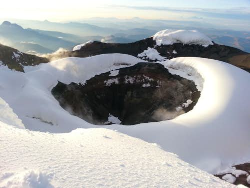 Cotopaxi crater (Nov 28, 2012)