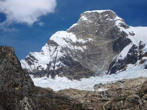 The north face of Huascarán Norte