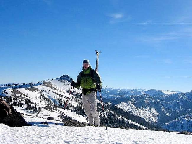 Atop Anderson Peak with...