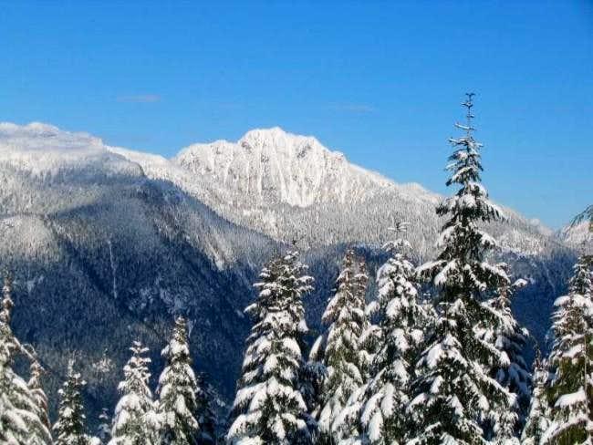 Brunswick Mountain as seen...