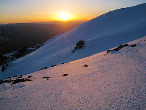 Sunset on Casaval Ridge