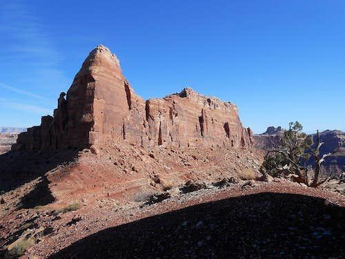 Subpeak of Mexican Mountain