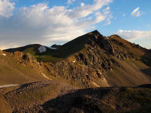 Echo Peak, North Ridge