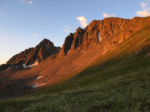 Echo Peak, East Ridge