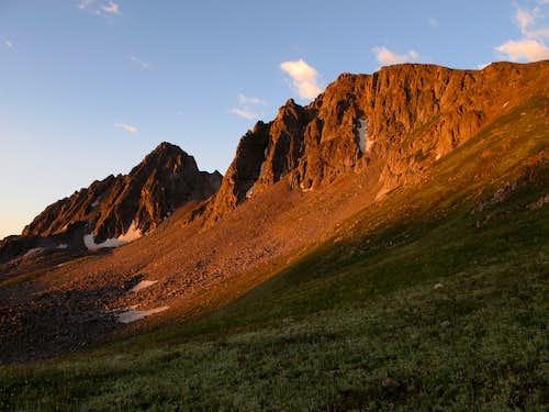 Echo Peak, East Ridge