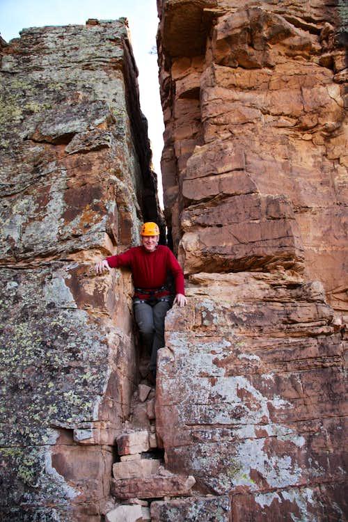 Climbdown Crack
