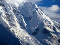 Rakaposhi peak, Hunza (Pakistan)