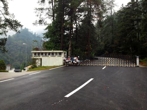 Nanling Park Entrance Gate
