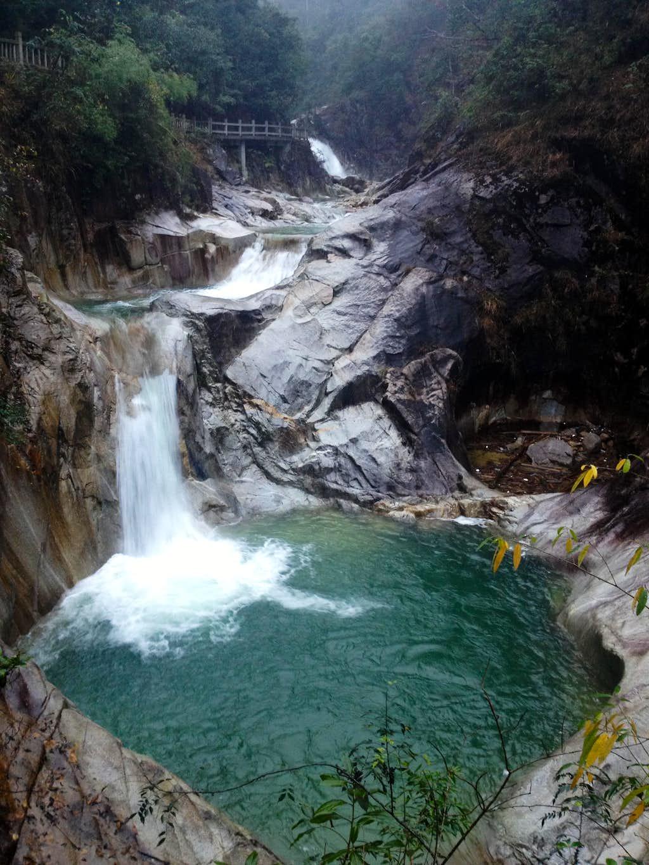 Waterfall in Qinshui Valley