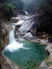 Waterfall in Qinshui Valley
