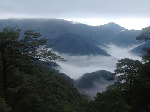 Cloud sea in Nanling