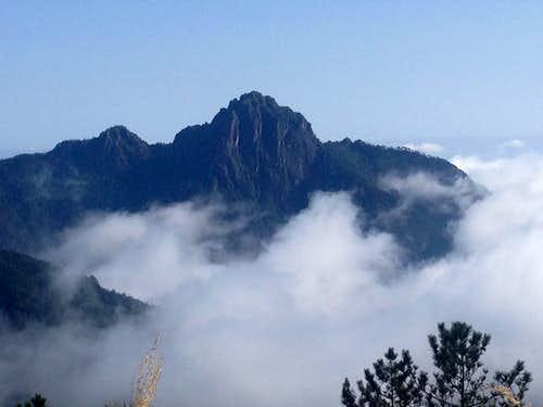Cool Peak on neighboring ridge