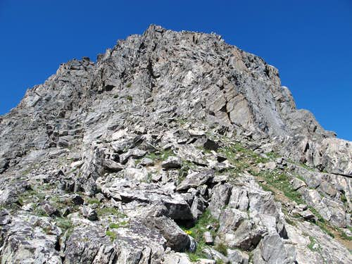 East Ridge of Hilgard Peak