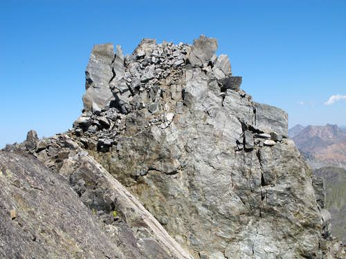 Summit Block of Hilgard Peak