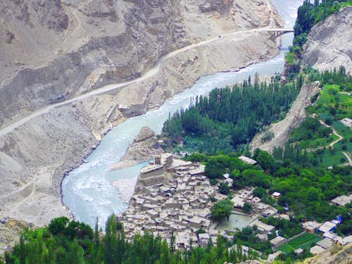 Altit Fort, Hunza (Pakistan)