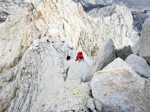 North Ridge of Lone Pine Peak