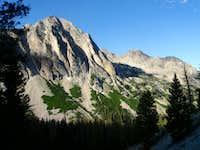 Backside of Baron Peak