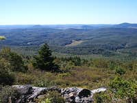East from Spruce Knob