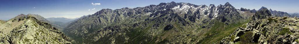 180° summit Panorama south