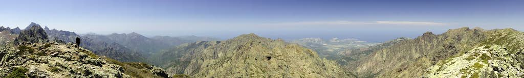 180° summit Panorama north
