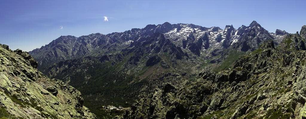 The Monte Cinto Massif
