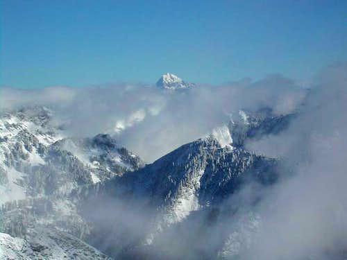 Mt. Stuart as seen through...